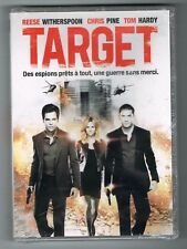TARGET - REESE WITHERSPOON, CHRIS PINE & TOM HARDY - DVD - NEUF NEW NEU