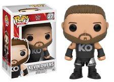 """FUNKO POP 2016 WWE WRESTLING KEVIN OWENS #27 Vinyl 3 3/4"""" Figure MIMB IN STOCK"""