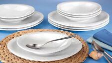 Seltmann Weiden Allegro 12 Tlg Speiseset Tafelservice Speiseservice Weiß 2. Wahl