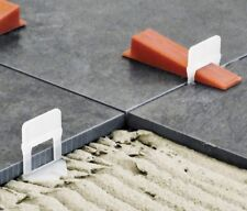 1000 2mm Tile Levelling Clips & 200 wedges for Raimondi Levelling System