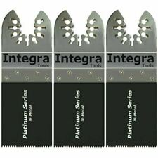 Integra Tools 3 Soft Metal Wood Blades Fits Fein Oscillating Mm250 Multitool S