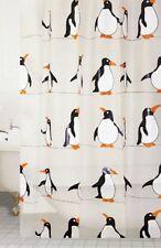 Penquin Design Peva Shower Curtain 180 X 180cm
