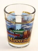 MINNESOTA STATE WRAPAROUND SHOT GLASS SHOTGLASS