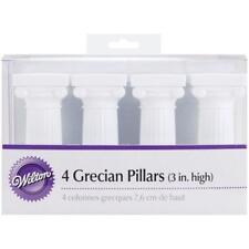 Wilton 3 in. Grecian Cake Pillars-4/PK