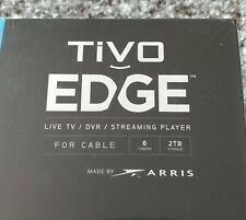 TiVo Edge For Cable / SEALED BOX / 6 Tuners / Media Streaming / Voice Remote