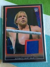 2015 WWE Topps Road To Wrestlemania Jack Swagger Event Worn Shirt Relic Card