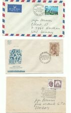 India six covers, fdc, folder, TWO scans