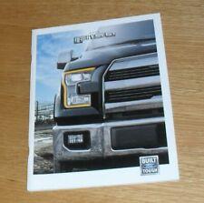 Ford F150 Brochure 2014-2015 Platinum Lariat Sport King Ranch XLT 3.5 V6 5.0 V8