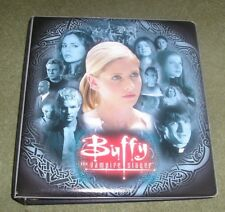 Buffy The Vampire Slayer Season 7 Official Inkworks Binder folder album BTVS