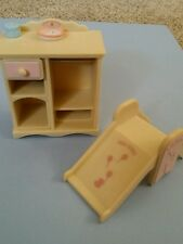 Calico Critters Sylvanian Families BABY'S NURSERY SET Furniture and Accessories