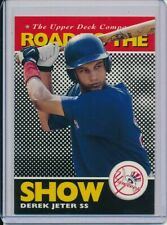 DEREK JETER 1994 UPPER DECK MINORS ROAD TO THE SHOW ROOKIE CARD RC #165