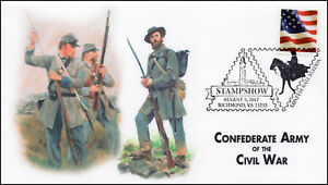 17-359, 2017, Stampshow, Richmond VA, Pictorial, Event Cover, Confederate Army