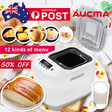 Aucma New Bread Maker Stainless Automatic Oven Loaf Jam Yogurt Doughnut Machine