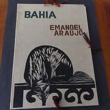 BRESIL BAHIA Emanoel ARAUJO gravuras originais 1965 signés rare !