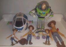 Vintage Disney Toy Story Bundle-Buzz & Woody Que Habla, Thinkway Toys Nave Espacial