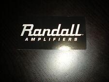 "Randall Amplifiers Sticker / Decal 7"""