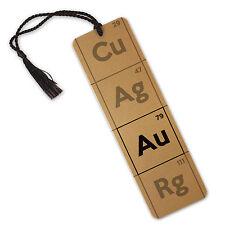 Gold Periodic Table Symbol Chemistry Science Element  - Aluminium Metal Bookmark