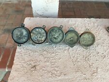 Vintage Hot Rod Gauges Early Pointer Speedometer Oil Rat Rod 1933 Plymouth