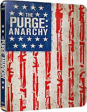 The Purge - Anarchy Blu ray Steelbook ( NEW ) REG B