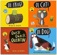 Oi Frog Dog Quick Quack Quentin Childrens Book Kes Gray Collection 4 Books Set