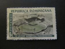 1959 - DOMINICAN REP. - TRUJILLO STADIUM - SCOTT 515 A132 9C