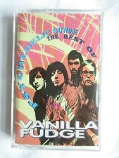 PSYCHEDELIC SUNDAE: THE BEST OF VANILLA FUDGE CASSETTE TAPE - BRAND NEW