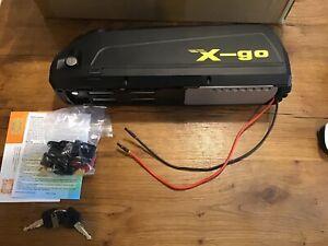 X-go 36V 15Ah 500W HaiLong Bicycle E-bike MTB Downtube Lithium Li-ion Battery Uk