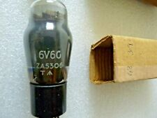 6V6G Military ZA5306 Arrow Engraved in Base    Valve Tube New Old Stock 1pc M20A