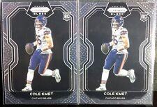 🔥🔥 X's Two Cole Kmet Prizm Black Rookie Cards #Pb-17 Chicago Bears 🔥🔥