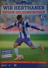 Stadionmagazin 2014/15 Hertha BSC Berlin - FC Schalke 04