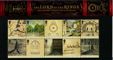 Presentation Pack 356 LORD OF THE RINGS 2004 ROYAL MAIL STAMPS Post Office GB