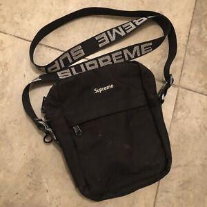Supreme - Shoulder Bag (SS18) - Black