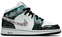 "GS Air Jordan 1 Mid SE ""Take Flight"". Style: BQ6931-114."