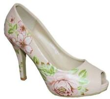 Unbranded Evening & Party Floral Heels for Women
