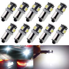10Pcs BAY9S H21W LED Bulbs Car Motor Indicator Backup Reverse Parking Light 6V