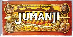 JUMANJI The Game : MB Milton Bradley BOARD GAME Excellent Used & Almost Complete