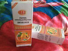 6 JJJ PAPAYA Peeling Gel Skin Instant Exfoliator Skin Whitening Cream 100g