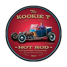 Larry grossman the Kookie T Bucket Old School Hot Rod retro chapa escudo Escudo