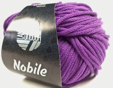 Nobile 50g Von Lana Grossa Color 002 Púrpura