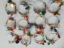 2 hook flattie Sea Fishing Rig with Attractor Beads