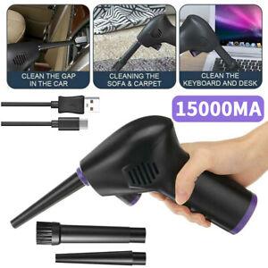 Cordless Air Duster Air Blower High Pressure for Computer Car Cleaning 45000 RPM