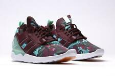 Adidas Boost Zx 8000 Floral Sneaker Tennis Shoes Mens Maroon Teal Green 14 M