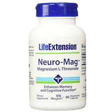 Neuro-Mag Magnesium L-Threonate from 2000 mg Magtein - Life Extension 90caps