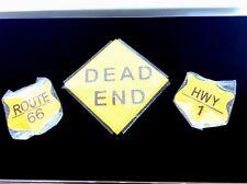 Boys Bedroom Decor Plaques California HighwayThemed Set Of Three NWT