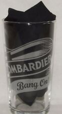 """BOMBARDIER BIERE ANGLETERRE Verre 50 cl pinte """"Bang on !"""" neuf"""