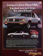 1984 Oldsmobile Hurst Cutlass 442 Ad, Refrigerator Magnet, 40 MIL Thick