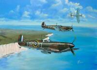 Supermarine Spitfire Mk.I. Giclée Fine Art Print