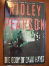 Ridley Pearson Body of David Hayes 1st ed HC SIGNED