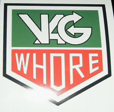 VAG WHORE PRINTED VINYL CAR DECAL STICKER VW AUDI SEAT DUB EUROLOOK FREE P&P