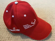 Rafa Nadal Foundation Youth Baseball Cap Tennis Hat - Red